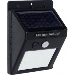 LÁMPARA SOLAR 16 LED