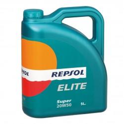 ACEITE REPSOL 20W50 ELITE E/5 L.