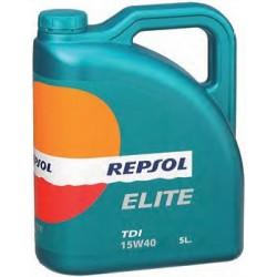 ACEITE REPSOL 15W40 ELITE TDI E/5 L.
