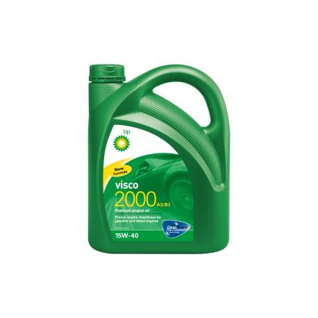 ACEITE BP 15W40 VISCO 2000 E/5 L.