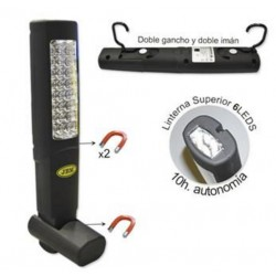 LUZ PORTATIL RECARGABLE BASE IMANTADA 45º JBM
