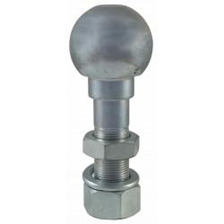 BURLON BOLA ENGANCHE CORTO 125 mm. 22x1.5 C/TUERCA AMA