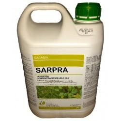 SARPRA E/5 L. (GLIFOSATO 18%+MCPA 18% SAL AMINA)